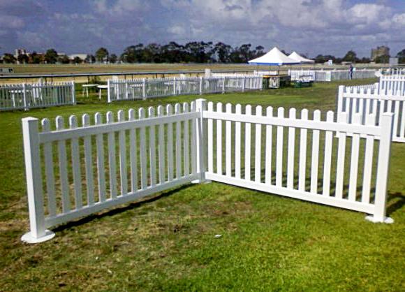 picket fence hire sale white picket fencing hire. Black Bedroom Furniture Sets. Home Design Ideas