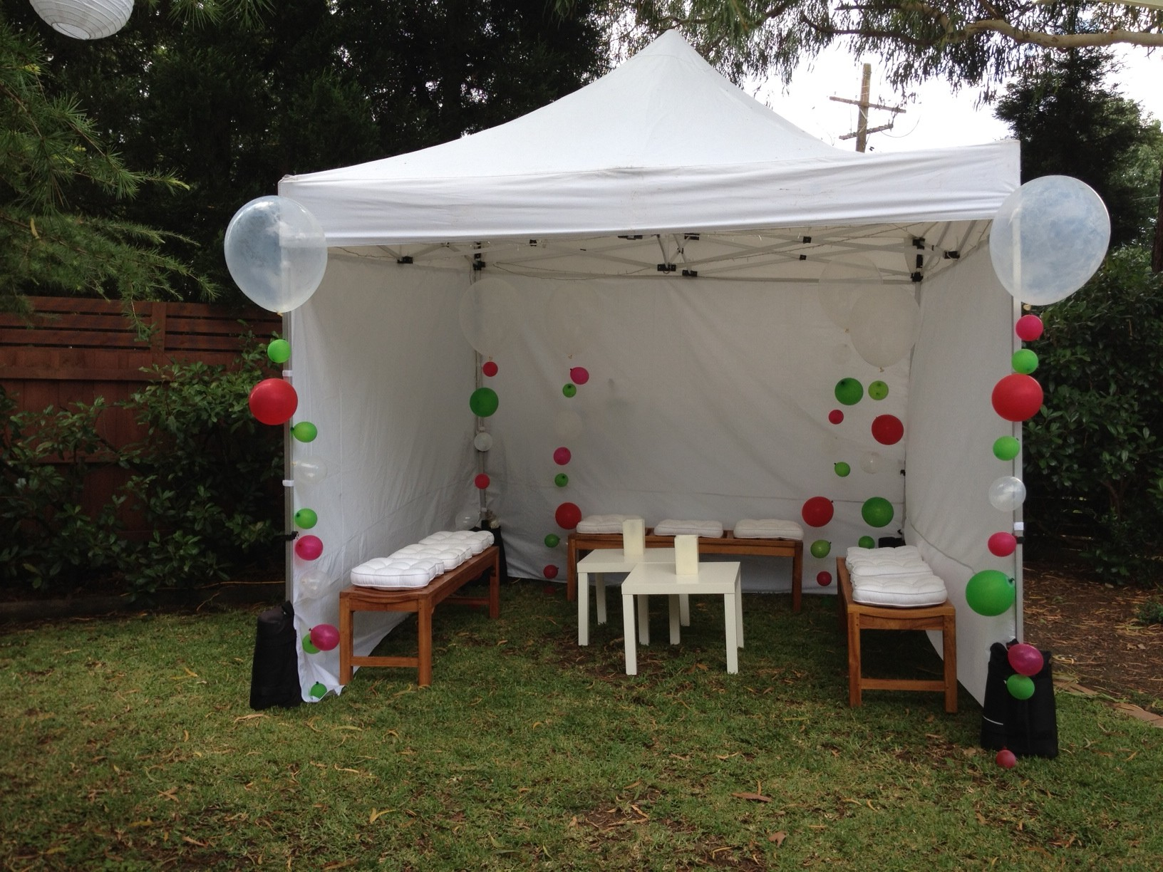 Small Party Marquee Hire Sydney NSW