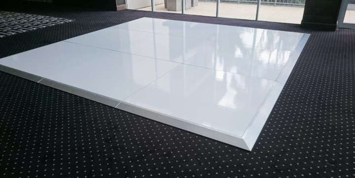 White Dance Floor Flooring Hire By Event Marquees In Nsw