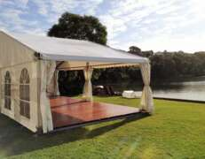 10m x 5m marquee hire