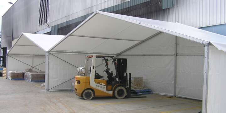 Temporary Warehouse Structures for Hire | Storage Marquees