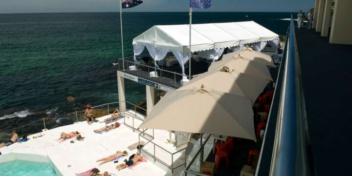 party tent for hire Bondi Iceberg