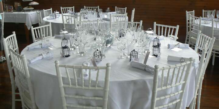 white tiffany chairs for hire sydney