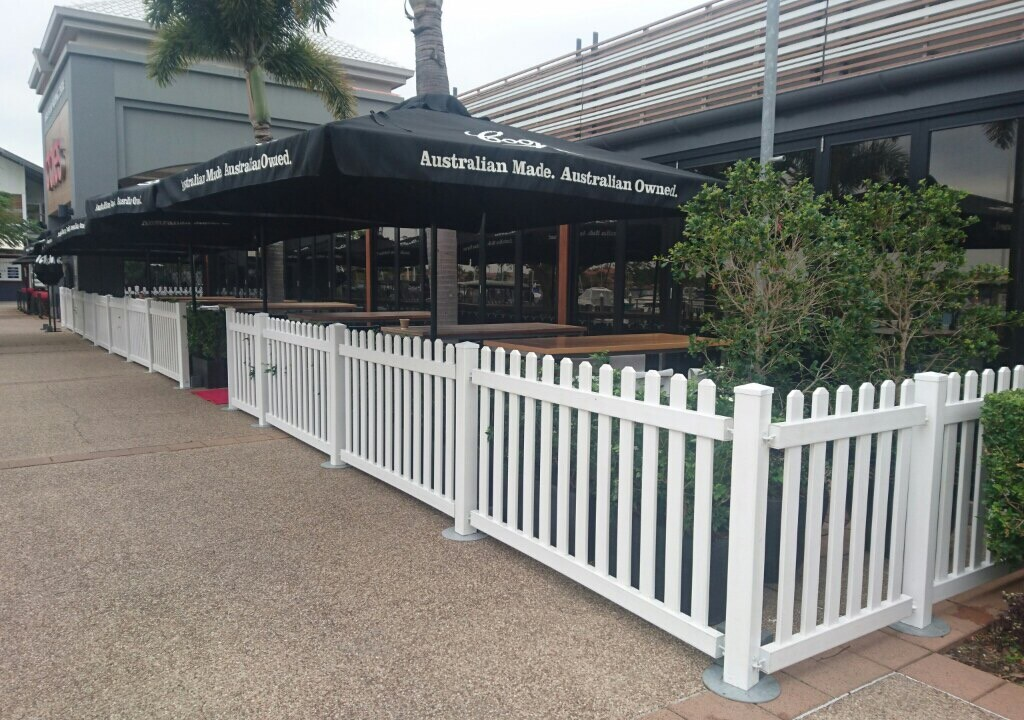 Picket Fence SALE| Portable Temporary PVC Fencing panels