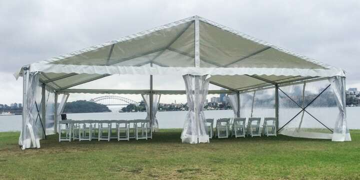 Wedding Ceremony Marquee Hire
