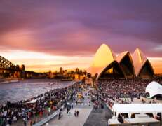 6m x 12m marquee hire @ the opera house sydney