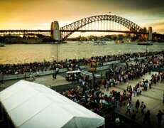 white marquee hire @ the opera house sydney