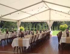 marquee hire in wollombi