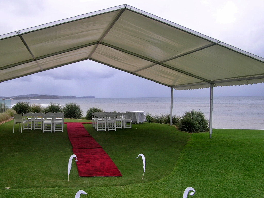 Wedding marquee hire in the southern highlands