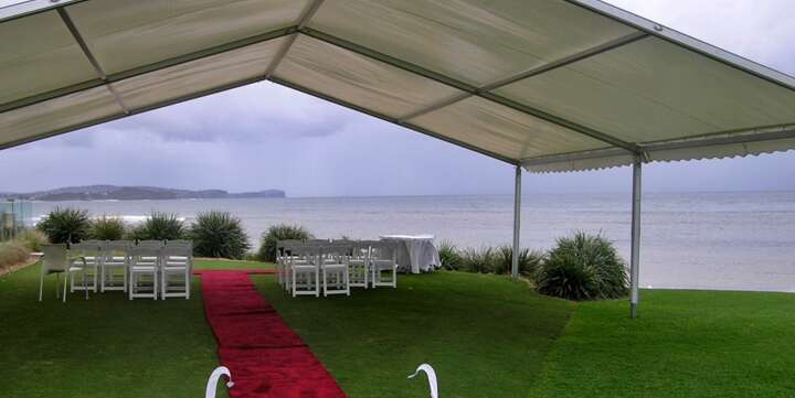 marquees with waterview in Sydney