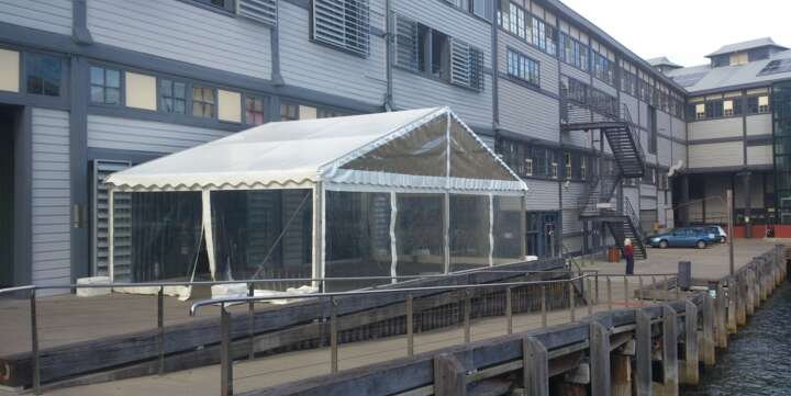 10m x 5m party tent for hire sydney