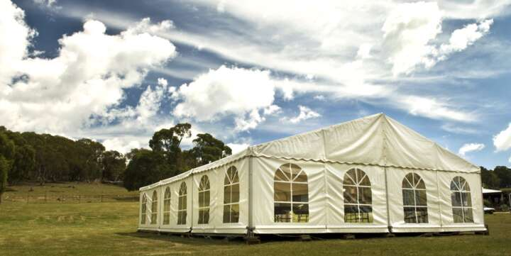 marquee hire blue mountains